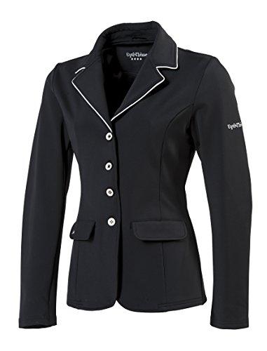 Equi-thème–Giacca da Concorso Equitazione Donna Soft Light–2Colori: Nero o Navy, Nero