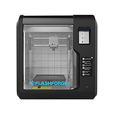 FLASHFORGE Adventurer 3 3D Printer Auto Leveling Enclosed FDM 3D Printer with Removable Platform, Remote Camera Monitoring and Removable Nozzle Mute Cloud Printing for Beginner (AD3)