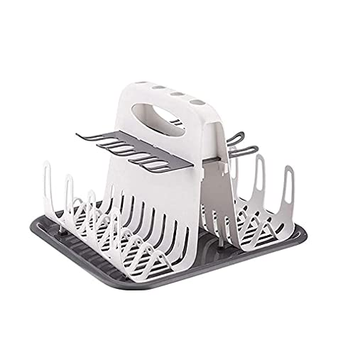 DSY Baby Bottle Drying Rack Portable Cleaning Dryer Storage Rack Multi-Layer Removable with Drain Plate Children Drying Rack