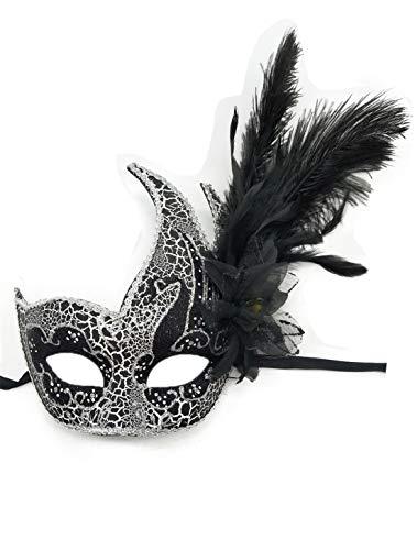 Flywife Pluma Mascarada Máscara Halloween Mardi Gras