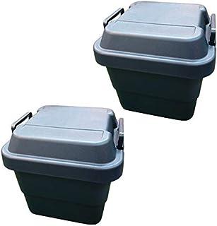 リス 収納ボックス トランクカーゴ 紺 (30Lネイビー×2)