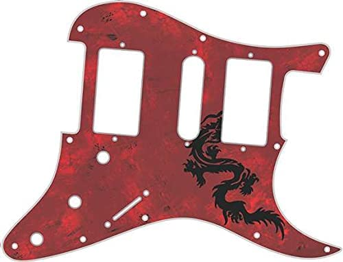 Custom Seattle Mall Graphical Pickguard to fit 11 Strat Fender Hole Colorado Springs Mall HSH