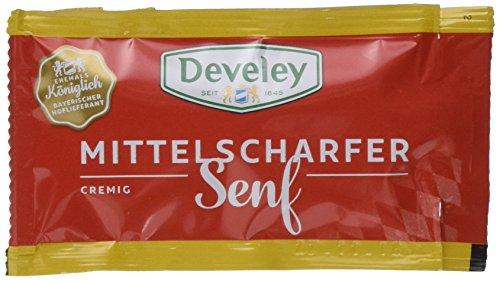 DEVELEY Mittelscharfer Senf, 200er Pack (200 x 10 ml)