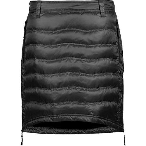 Skhoop Women's Short Down Skirt, Black, S