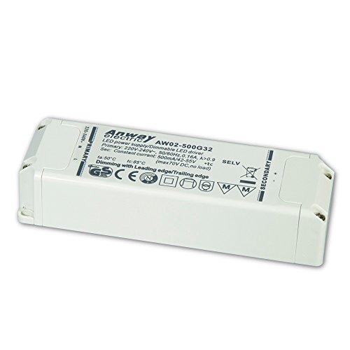 00011929 - ANWAY LED Treiber AW02-500G32 26W/500mA/42-55V
