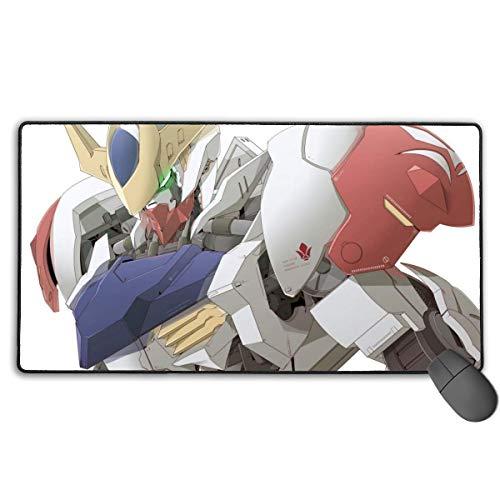 Gundam Eisen Waisen-Barbatos Lupus rutschfeste Mauspad Rechteck Gummi Gaming Mauspad AnName Mouse Pad