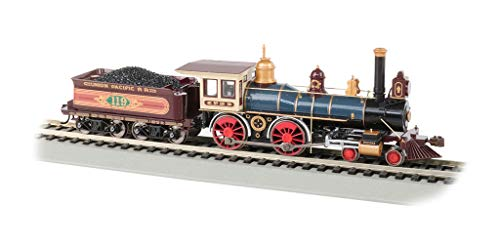 4-4-0 American Dcc Sound Value Equipped Steam Locomotive - Union Pacific #119 W/Coal Load - HO Scale -  Bachmann, 52707