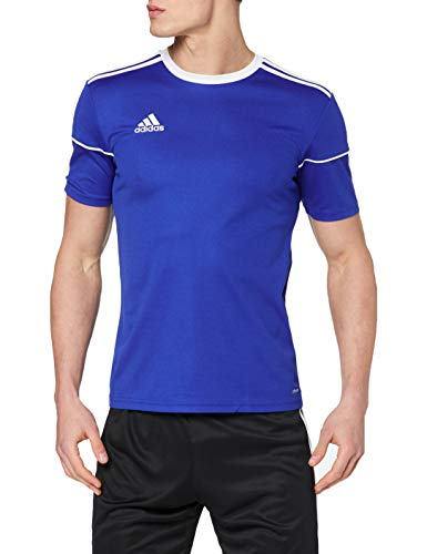 adidas Herren Squad 17 Jsy Ss T-shirt, blau (bold blue/White), L