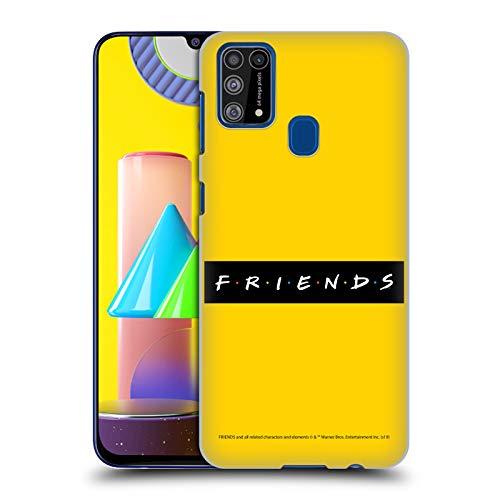Head Case Designs Licenciado Oficialmente Friends TV Show Patrón Logotipos Carcasa rígida Compatible con Samsung Galaxy M31 (2020)