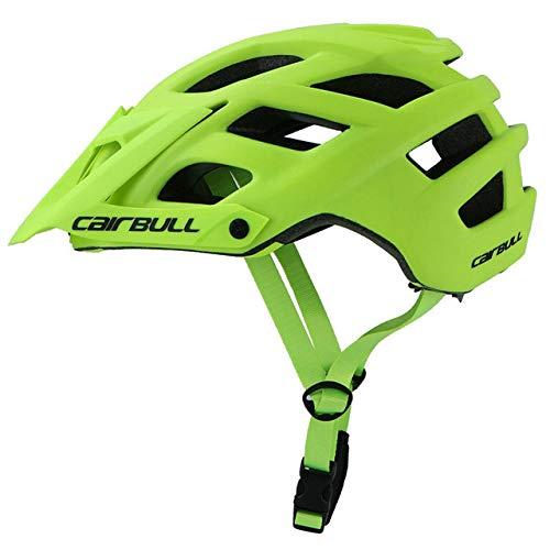 IAMZHL 2023 Neuer Fahrradhelm Fahrradhelm In-Mould MTB Fahrradhelm Casco Ciclismo Road Mountain Helme-Fluorescent Yellow