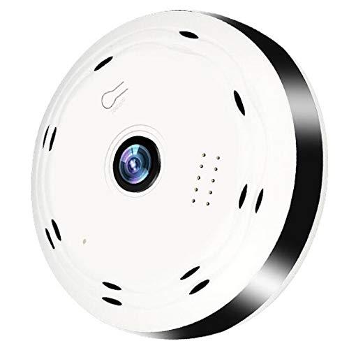 CZWNB Rete Wireless Milioni di telecamere di sorveglianza HD 360 Occhio di Pesce Telecamera sorveglianza panoramica di Sicurezza,2millionpixels