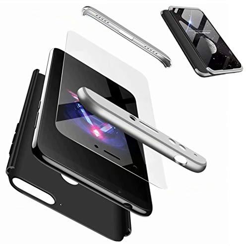 CIRRYS kompatibel mit Handyhülle für Huawei Honor 7a/y6 Prime Hülle+Nicht enthalten Panzerglas Extra Dünn Ultra Slim Cover Schutzhülle Schale Hardcase - Schwarz