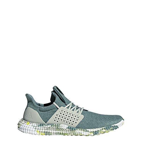 adidas Athletics 24/7 TR Cross Trainer, raw Green/ash Silver/Shock Yellow, 10.5 M US