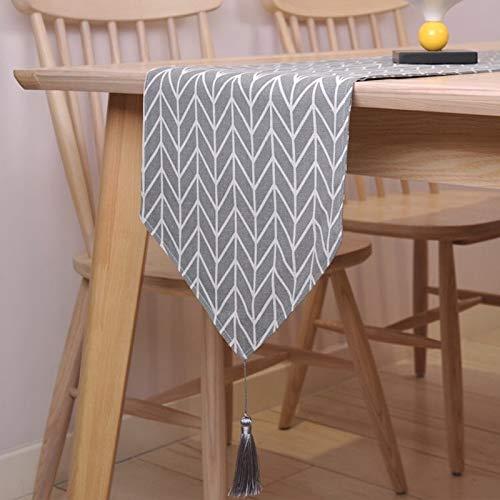 Modern spoor tafel mat slip op Corridor vlag op weg decoratie gang huwelijk lijst set voet grijze tafelkleed modern langlaufers,30 * 210 cm