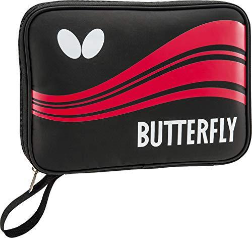 バタフライ(Butterfly) 卓球 ラケットケース スウィーブケース ラケット&ボール収納用 レッド 63000