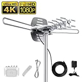 Best Hd Outdoor Tv Antennas - Vansky Outdoor Amplified HD TV Antenna 150 Mile Review