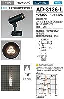 山田照明/屋外スポットライト AD-3138-L 電気工事必要型