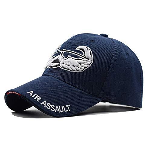 WAZHX Gorra De Béisbol Informal Bordada Bullhead Cien con Sombrero De Lengua De Pato Callejero para Hombres Sombrero para El Sol Al Aire Libre Sombrero para Jóvenes Ajustable2