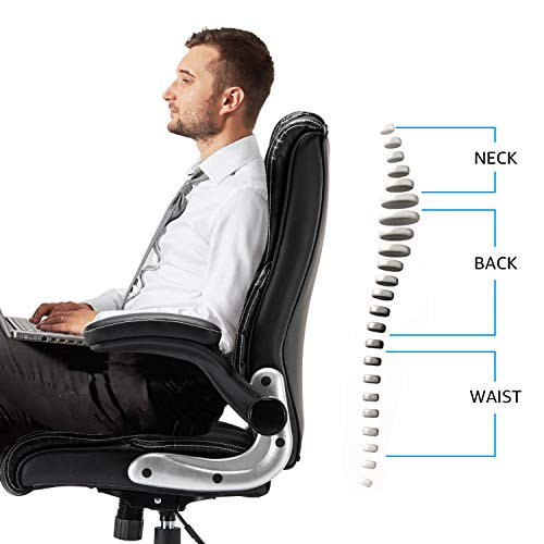 B2C2B Leather Executive Office Chair