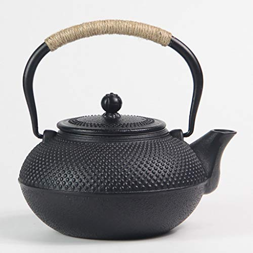 Fireplace Kettles, Cast Iron,teapot Cast Iron, Best Japanese Cast Iron Teapot Infuser Strainer Set,black,1.5L,Used For Bulk Tea And Tea Bags, White Tea, Wood Fruit Tea, Health Tea, Black Tea