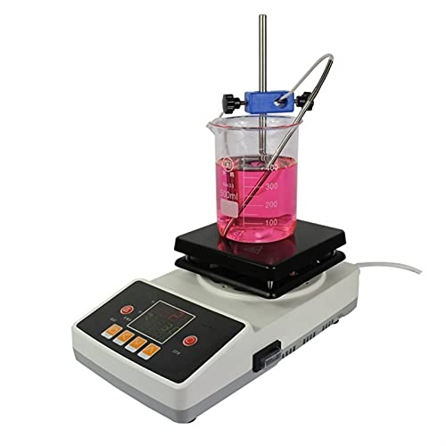 LUYIPINGQIWND Laborheizung Mischgeräte 5L Digitales Unglücklicher Labor Elektrischer Magnetrührer