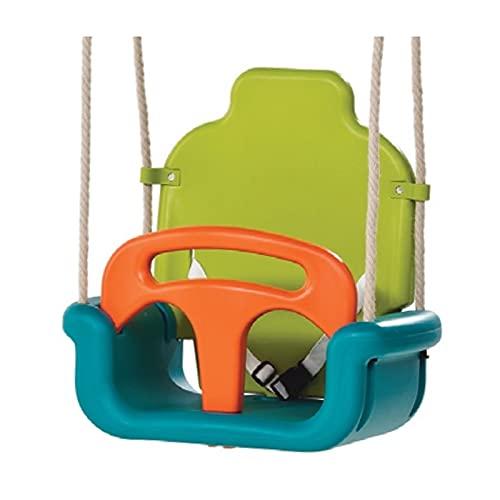 LZL Hogar engrosamiento tres en uno de los niños columpio al aire libre interior silla colgante columpio juguetes de los niños
