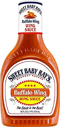 Sweet Baby Ray´s Buffalo Wing Sauce und Glaze, 1er Pack (1 x 473 ml)