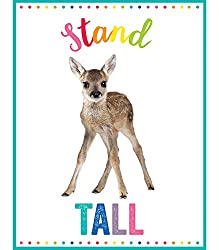 "All kids need words of encouragement, regardless of their strengths. This cute ""stand tall"" poster feels like a warm hug when they're feeling emotionally weak and misunderstood."