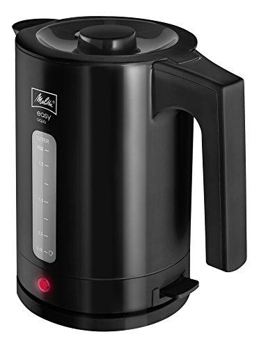 Melitta Wasserkocher, Easy Aqua, 1,7 Liter, 2.400 Watt, Schwarz, 1016-02