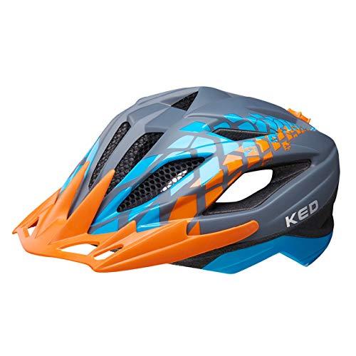 KED Street Jr. Pro Helm Kinder Grey Kopfumfang S/M | 49-55cm 2020 Fahrradhelm