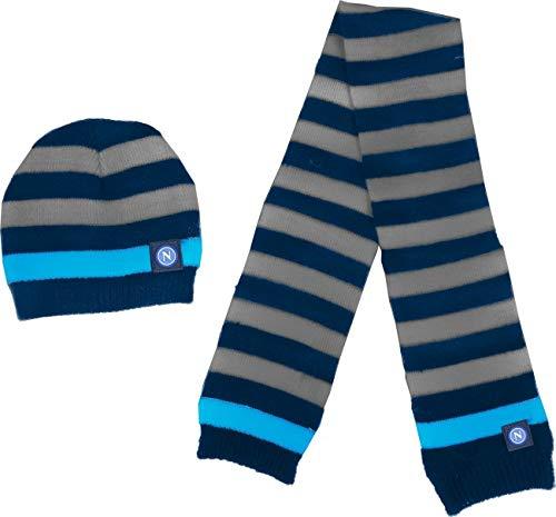 Napoli Set baby sjaal en muts gebreide muts Righe 121401