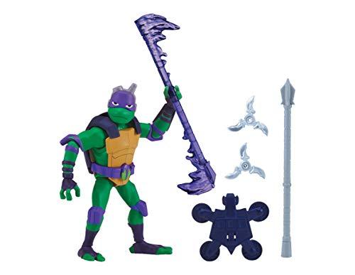 Teenage Mutant Ninja Turtles TUAB0400 - Figura de acción básica con texto en inglés 'Donnie the Tech Wizard the Rise of Basic' , Modelos/colores Surtidos, 1 Unidad