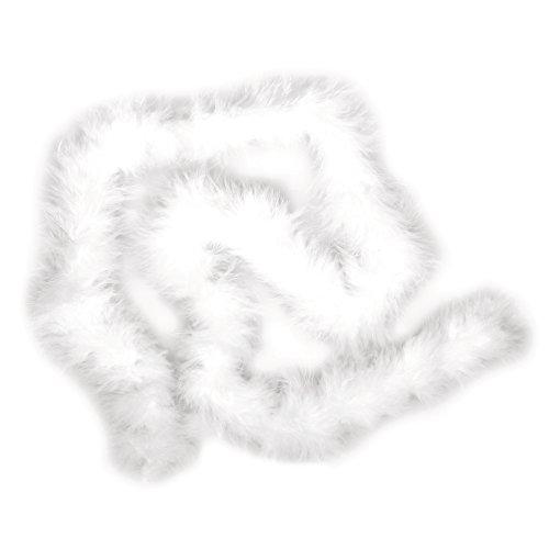 Rayher 8510202 Federboa, SB-Btl. 1 m, weiß