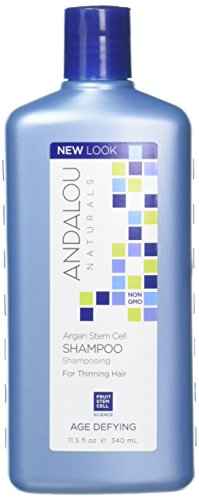 Andalou Naturals Argan Stem Cell Age Defying Shampoo, 11.5 Ounce