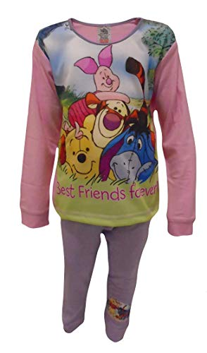 Disney Mädchen Winnie Puuh Pyjama Tiger Eeyore Ferkel - Winnie Pooh, 86-92
