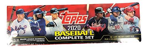 Topps 2020 - Juego de 700 tarjetas y 5 tarjetas paralelas numeradas secuencialmente