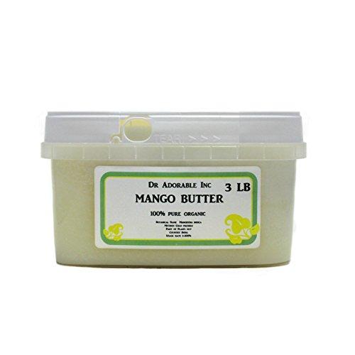 Mantequilla de mango orgánica 100% pura cruda por Dr.Adorable 48 oz/3 lb