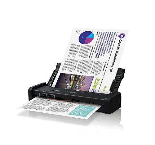 Epson DS-320 Portable Duplex Document Scanner with ADF (Renewed)