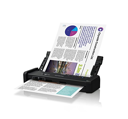 Epson DS-320 Portable Duplex Document Scanner with ADF (Renewed)