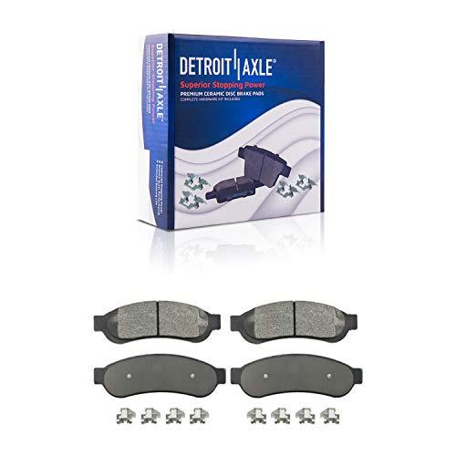 Detroit Axle - Rear Ceramic Brake Pads w/Hardware...