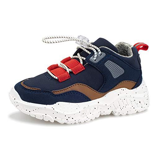 Harvest Land Kinder Sneakers Tennisschuhe mädchen Hallenschuhe Jungen Schuhe Festliche Leuchtschuhe Wanderschuhe Turnschuhe Sportschuhe für Jungs Kinder,28 EU,Blau