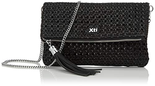 XTI 86288.0, Bolso de mano para Mujer, Negro (Negro), 28x17x2 cm (W x H x L)