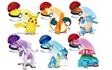 Pokemon Pokeball Figura Pikachu Charizard Mewtwo Blastoise Venusaur Gyarados Variante Juguete Figura De Acción Modelo Elf-Ball Set Regalos para Niños