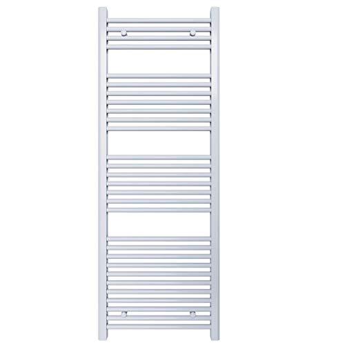 Radiador toallero para baño – Color blanco – Distancia entre ejes: 50 – Dimensiones: 1500 x 550
