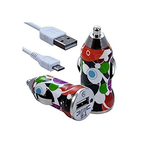 Seluxion-Cargador de coche, USB CV12 para Sony Xperia Z5 Premium