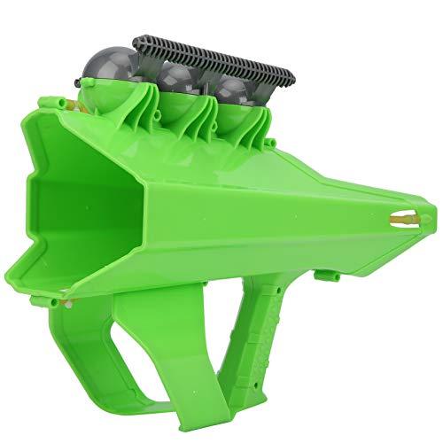 Haowecib Pistola lanzadora de Bolas de Nieve, Interesante Fabricante de Bolas de Nieve de Invierno al Aire Libre, para niños y Adultos((Verde))