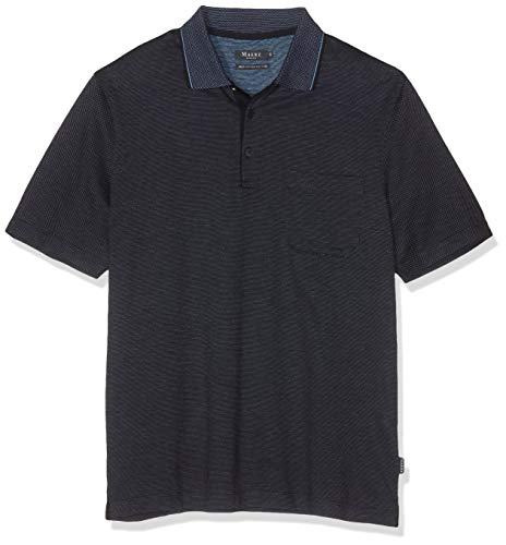 Maerz Herren Poloshirt, Blau (Navy 399), XXX-Large (Herstellergröße: 58)
