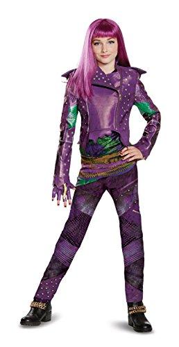 Disguise Mal Prestige Descendants 2 Costume, Purple, Large (10-12)