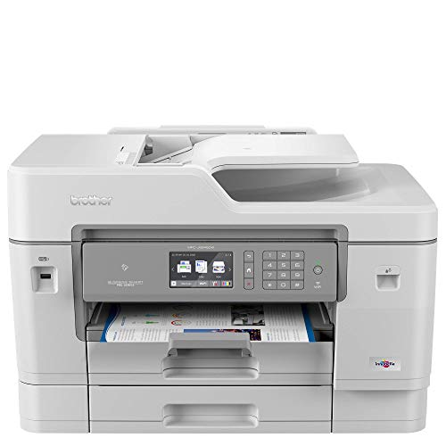 Brother MFC-J6945DW Colour Inkjet Printer - All-in-One, Wireless/USB...