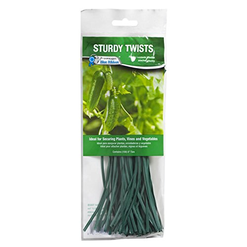 Gardener's Blue Ribbon T002B Ties Twist Tie, 8'